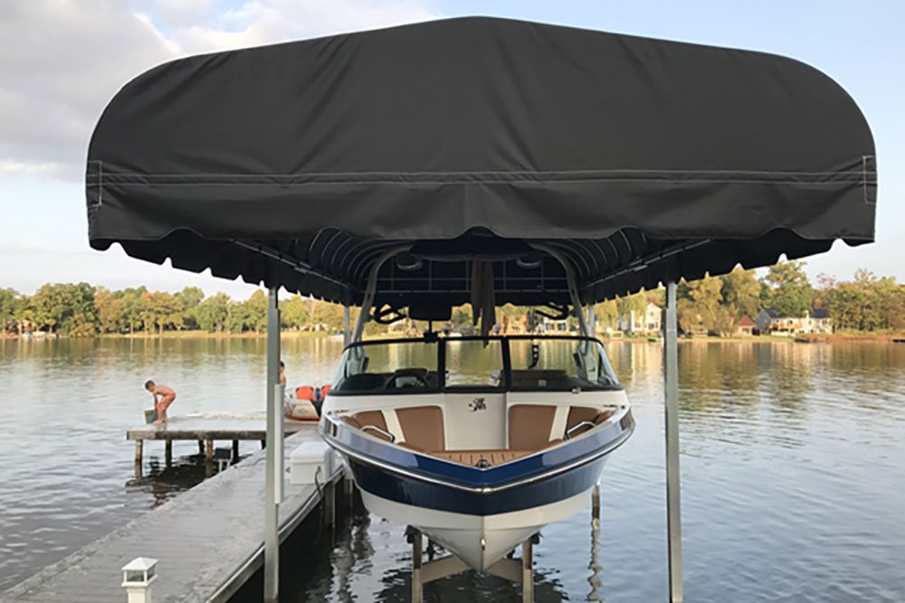Rush Co Marine Boat Lift Cover Image